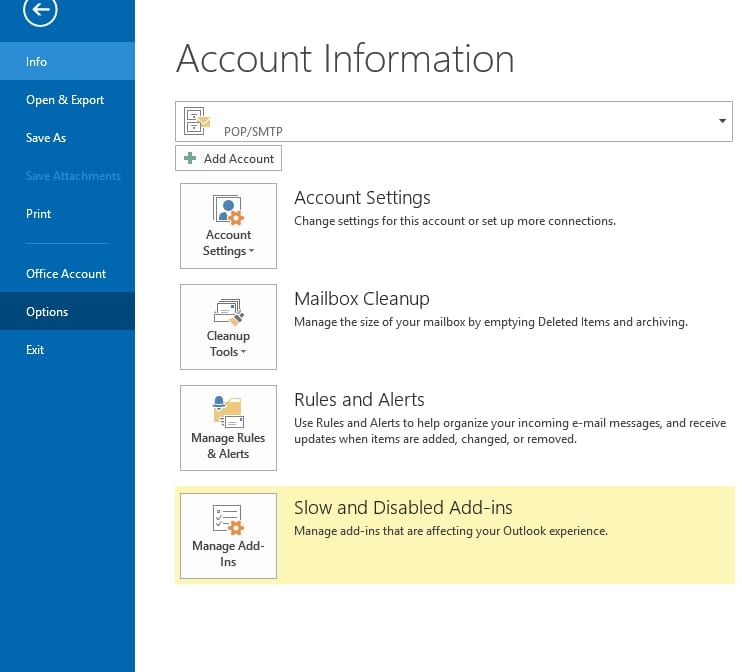 How to increase/decrease automatic send/receive email in outlook
