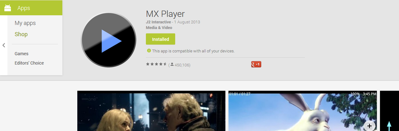 How to play mkv files in an Android device.
